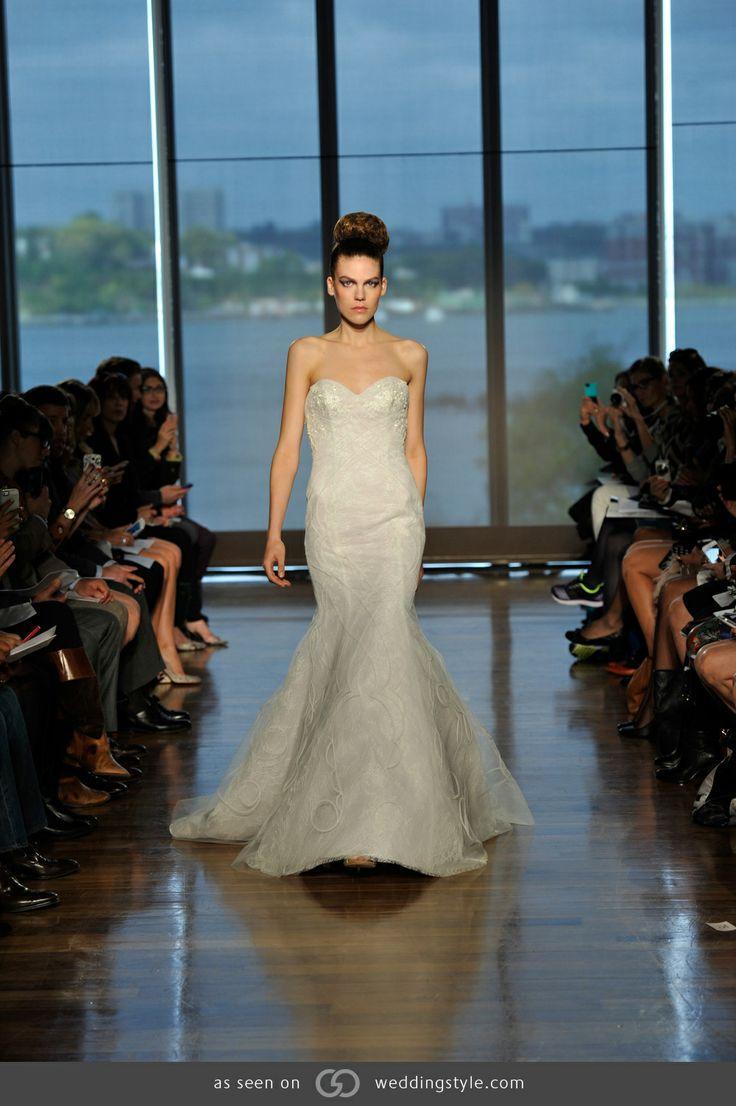 Свадьба - Ines Di Santo Fall/ Winter 2014 Wedding Dress. #GOWS #platinumlist #weddingstyle #graceormonde #luxuryweddings