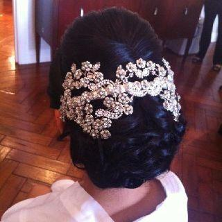 زفاف - African American. Black Bride. Wedding Hair. Natural Hairstyles. Bride Hair By Tara Fontana  Fairytale Hair And Makeup