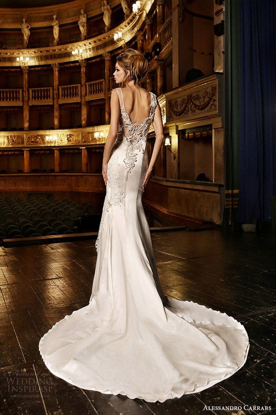 Wedding - 100 Open Back Wedding Dresses With Beautiful Details