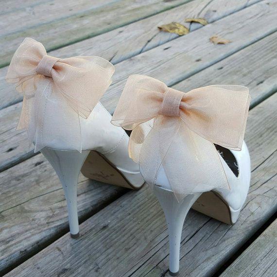 زفاف - Shoe Clips, Shoe Clips Wedding, Shoe Clips Bridal, SHoe Clips Bows, Shoe Clip Ons, Shoe Clips Wedding Shoes, Shoe Clips Champagne, Shoe Ons