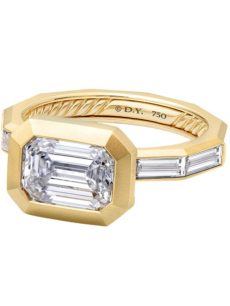 Hochzeit - 8 Yellow Gold Engagement Rings To Swoon Over
