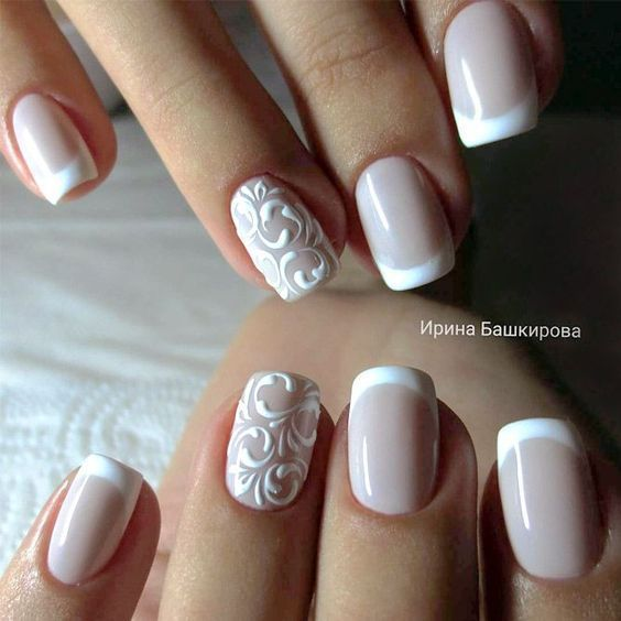 Hochzeit - 30 WEDDING NAIL DESIGNS IDEAS FOR YOUR BIG DAY