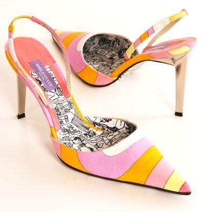 زفاف - Emilio Pucci Heels.