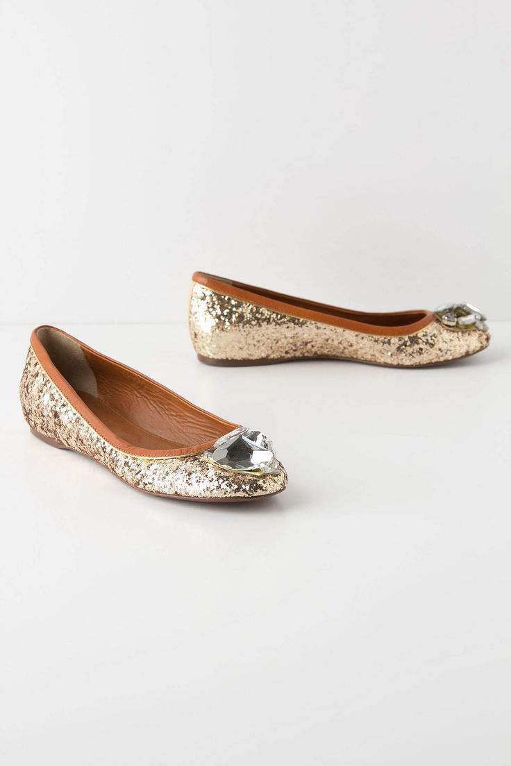 زفاف - Toecap Treasure Flats / Anthropologie