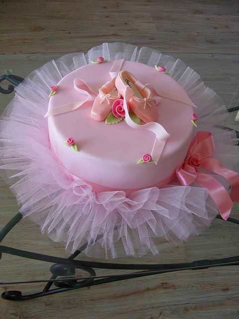 Свадьба - Ballerina Cake