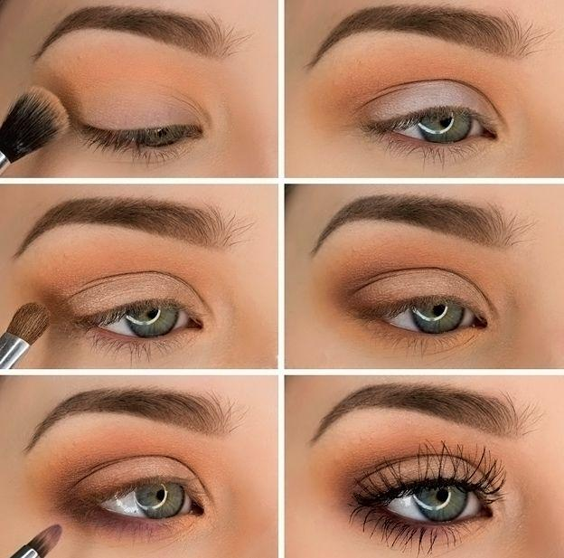 Wedding - Simple And Beautiful Eye Makeup Shadows Ideas For Blue Eyes