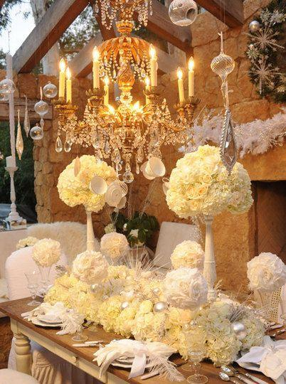Wedding - Tips For Creating A White Winter Wonderland