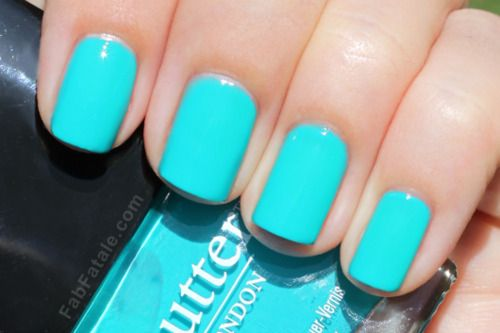 Wedding - Manicure Mondays - Butter London S/s 2012