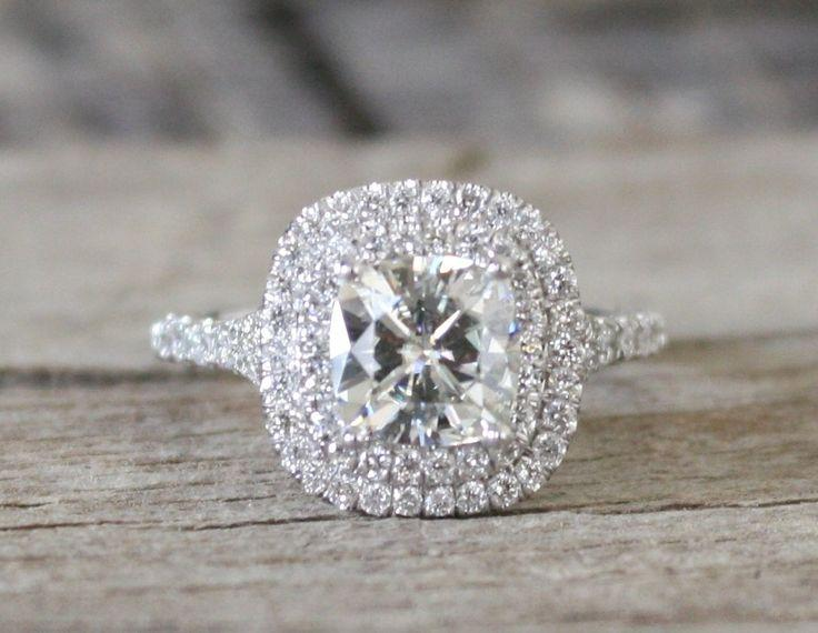 Wedding - Cushion Cut Ring