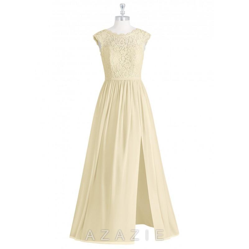 Hochzeit - Champagne Azazie Arden - Charming Bridesmaids Store