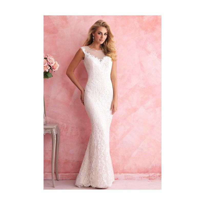 Wedding - Allure Romance - 2812 - Stunning Cheap Wedding Dresses