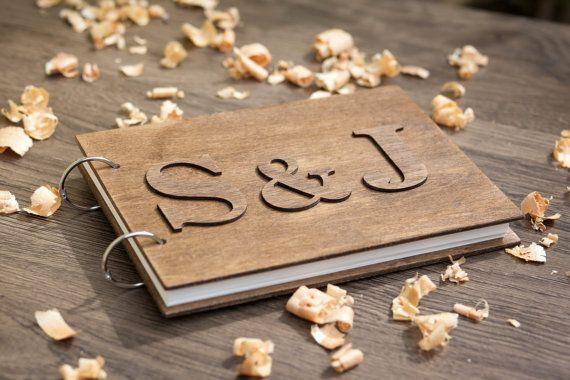 Wedding - Boda Invitado Libro, Libro De Estilo Rústico, Invitado Libro Ideas, Libro De Huésped, Huésped Personalizado Libro, Libro De Visitas De …