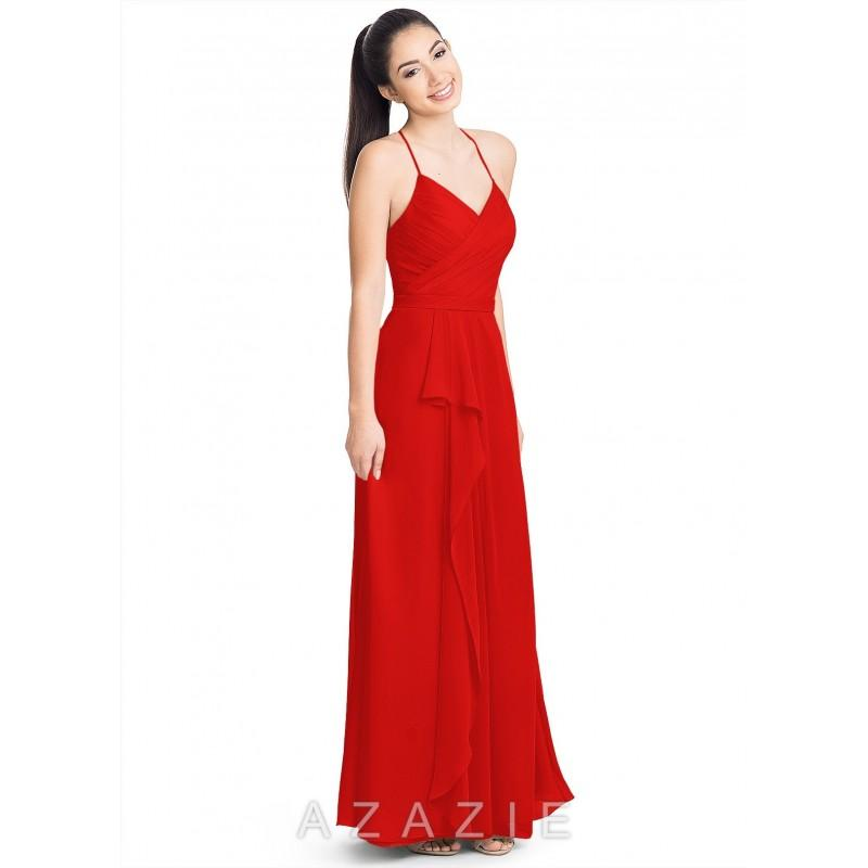 4cb7f6d5989 Red Azazie Dawn - Simple Bridesmaid Dresses   Easy Wedding Dresses ...