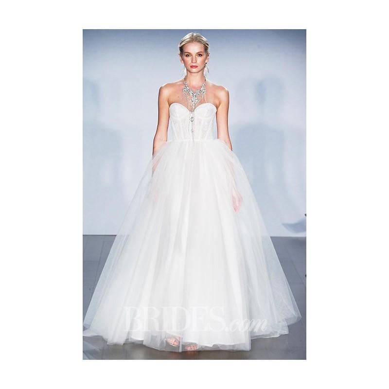 Wedding - Alvina Valenta - Fall 2015 - Strapless Ball Gown Wedding Dress - Stunning Cheap Wedding Dresses