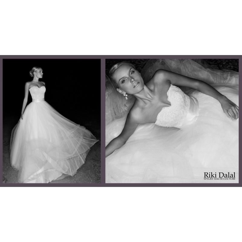 Hochzeit - Riki Dalal Pays De La Loire Style 1316 -  Designer Wedding Dresses