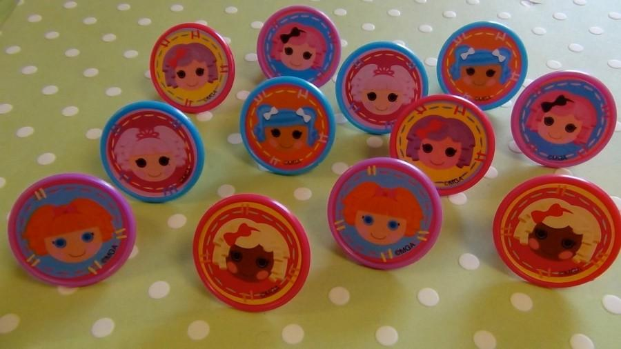 Hochzeit - Lalaloopsy Rings