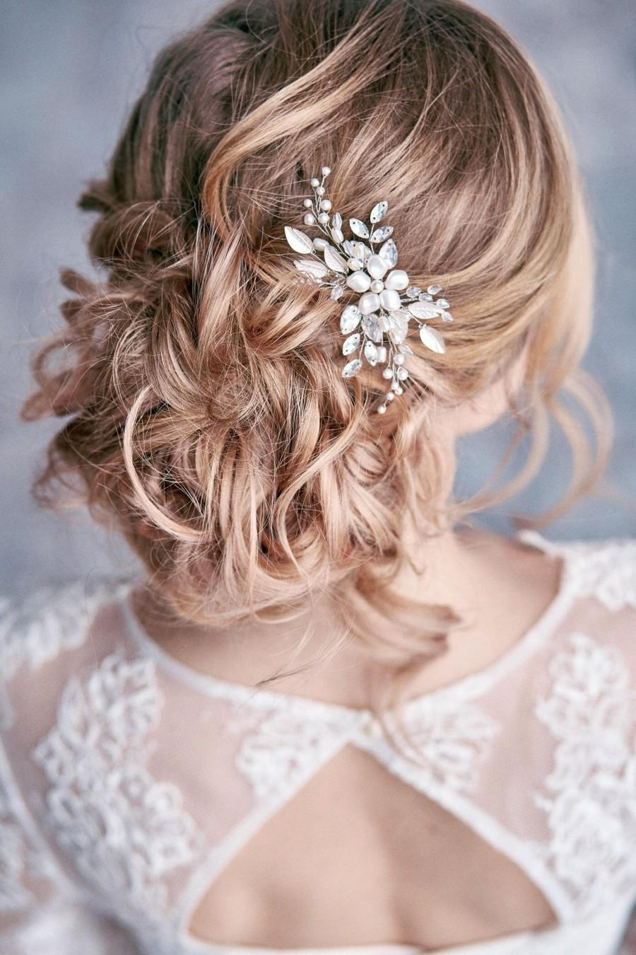 Wedding - Bridal hair pin Bridal hair piece Bridal headpiece Prom hair piece  Wedding headpiece Wedding hair piece Bridal hair accessories
