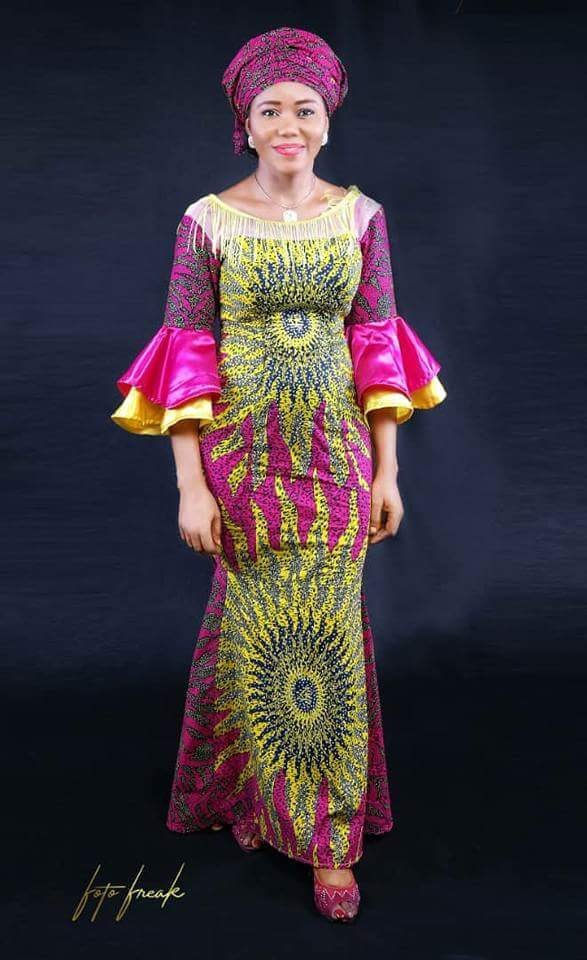 Wedding - CHEDE Ankara long dress, African design, African fashion, African Queen, African wedding