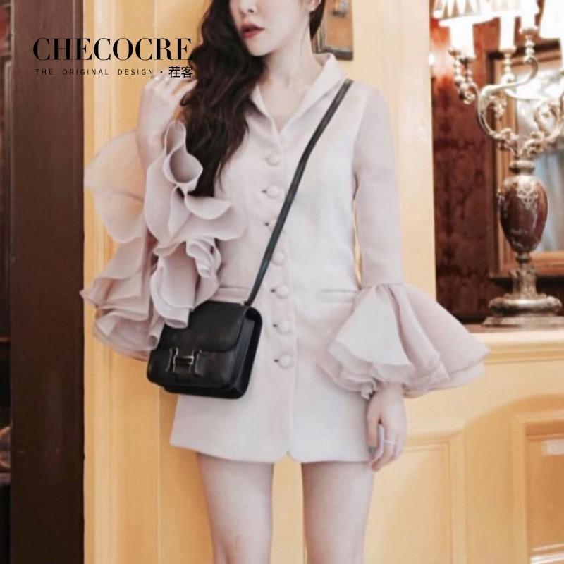 Свадьба - Sweet Slimming Flare Sleeves Trendy It Girl Dress Skirt Suit Coat - Bonny YZOZO Boutique Store