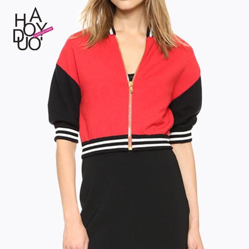 Свадьба - Vogue Split Front Solid Color Slimming Jersey Spring Coat - Bonny YZOZO Boutique Store