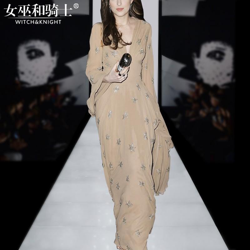 Wedding - Vogue Slimming V-neck Floral It Girl Spring Dress - Bonny YZOZO Boutique Store