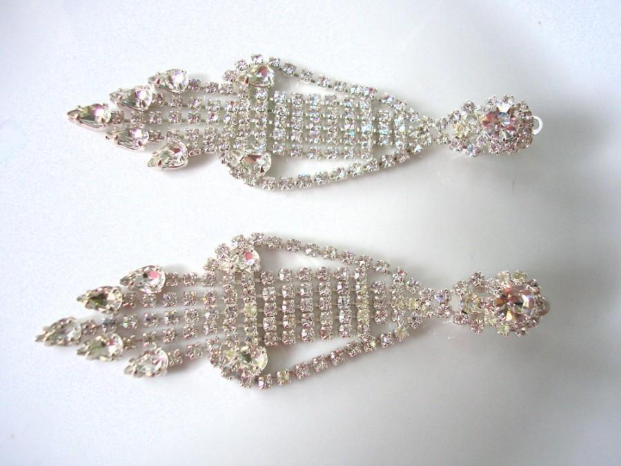 Свадьба - Art Deco Chandelier Earrings