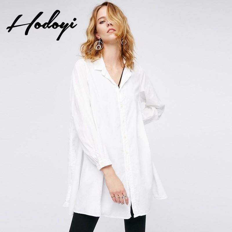 Hochzeit - Oversized Vogue A-line Spring Blouse Dress - Bonny YZOZO Boutique Store