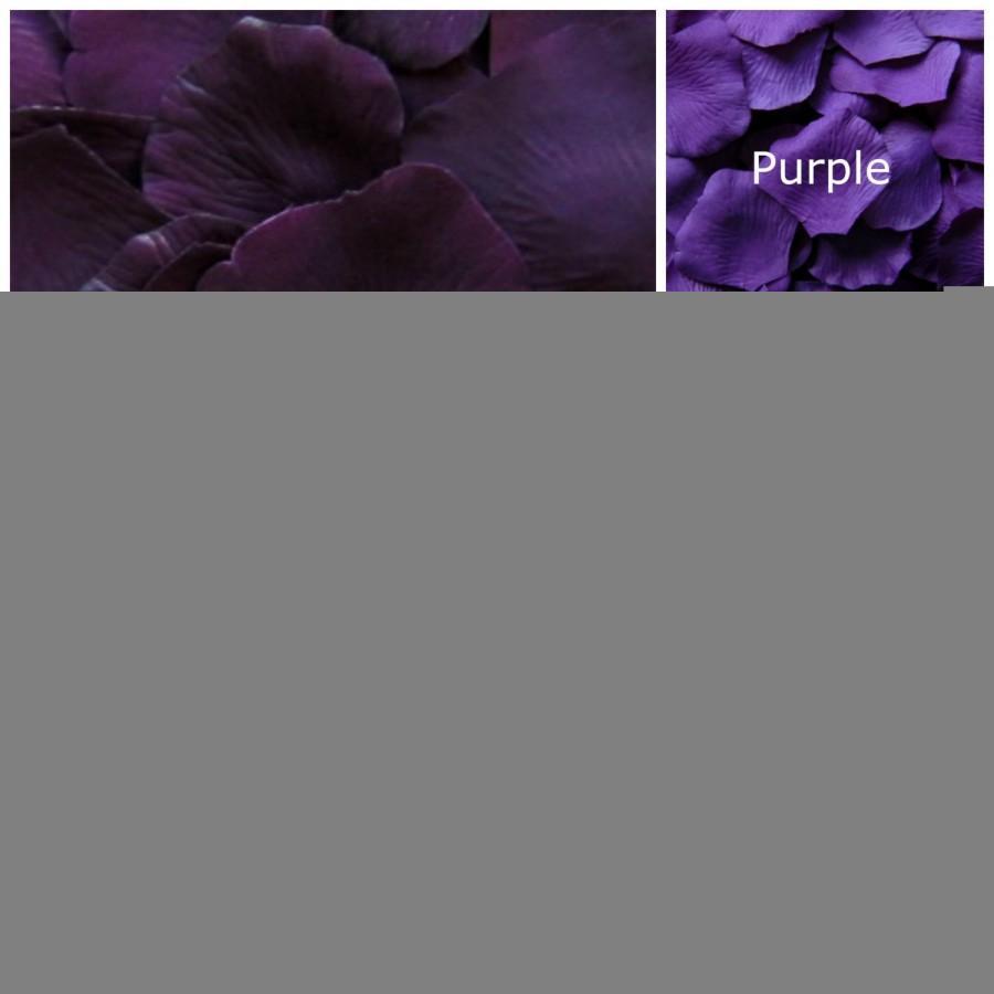Wedding - Silk Rose Petals, 3000 petals, Purples