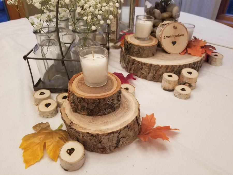 Свадьба - Large Wood Slabs, Thick Wood Disks, Wood Slab Centerpiece, Live Edge Slab, Chargers, Wood Slice, Hardwood Slabs, Cake Stands, Slices of Wood