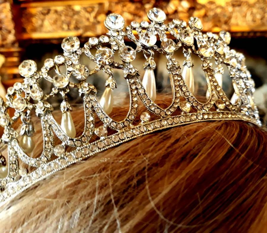 princess diana wedding tiara inspired crystal bridal silver crown quinceanera prom 2884431 weddbook weddbook