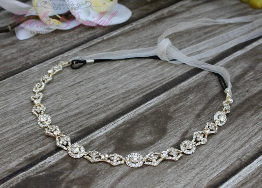 Mariage - FAST SHIPPING! Bridal Headband, Crystal Headband, Swarovski Headband, Bridal Crystal Headband, Swarovski Bridal Headband, Bridal Headpiece,