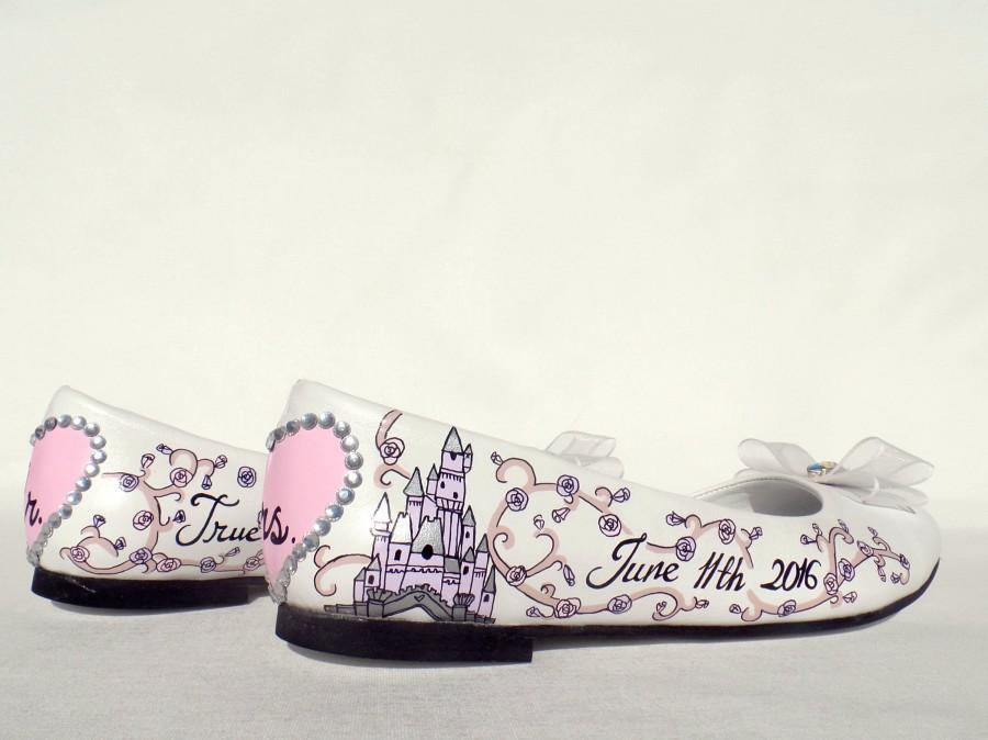 Hochzeit - Fairy Tale Wedding Flat Shoes