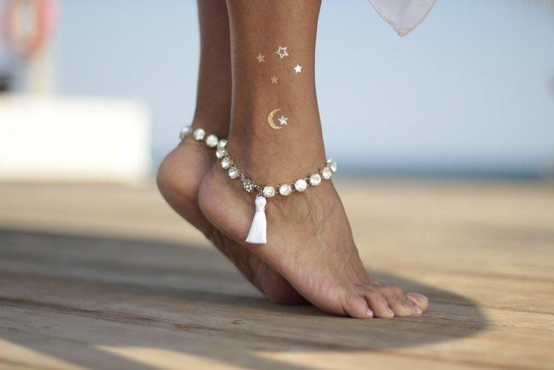Свадьба - Rhinestone anklet with tassel beach wedding barefoot sandals,bangle,cuff,wedding anklet,barefoot sandal,ankle cuff,boho sandal