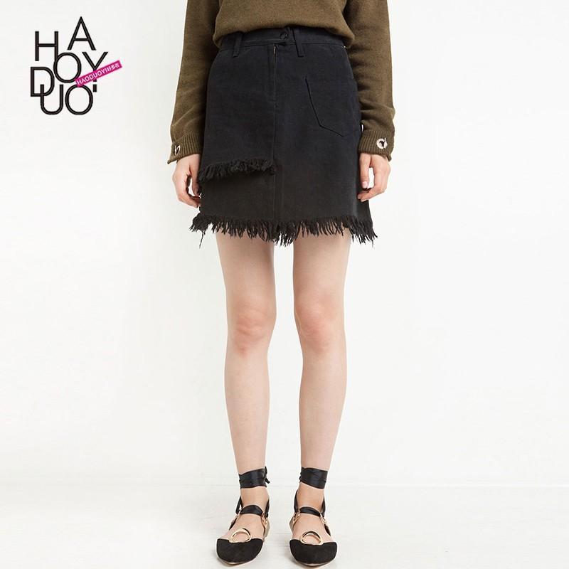 Wedding - Vogue Asymmetrical Summer Mini Skirt - Bonny YZOZO Boutique Store