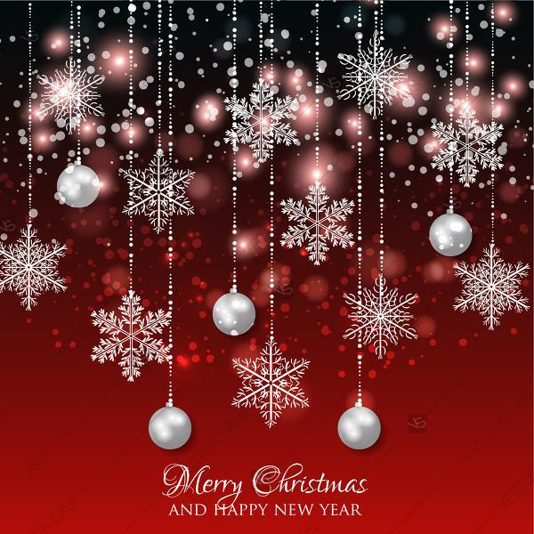 Merry Christmas Images Download.Christmas Invitation With Christmas Balls Merry Christmas
