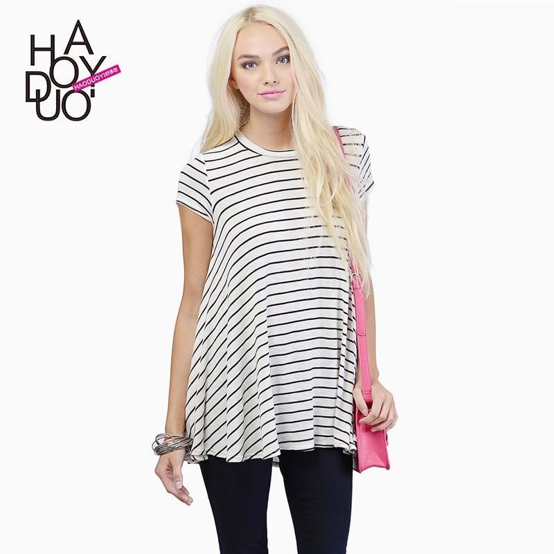 Свадьба - Oversized Vogue Slimming T-shirt Basics - Bonny YZOZO Boutique Store