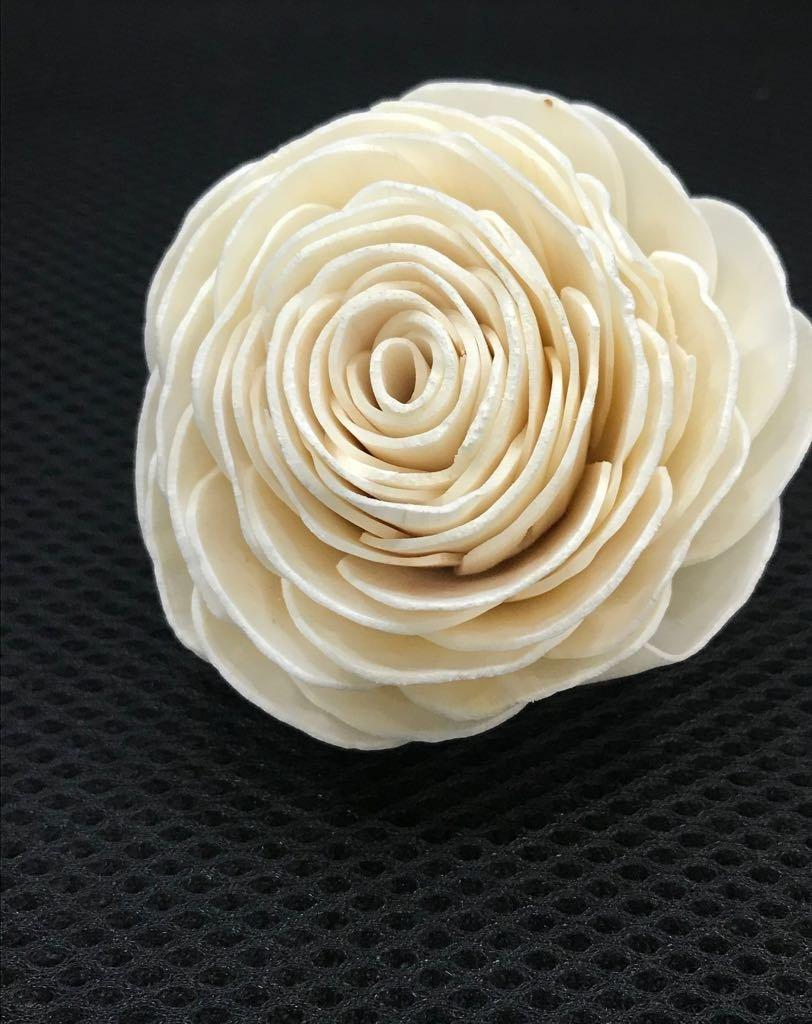 Mariage - Sola Wood Flower Beauty Rose  (For 100 flowers) - MOQ 10 in mixing quantity
