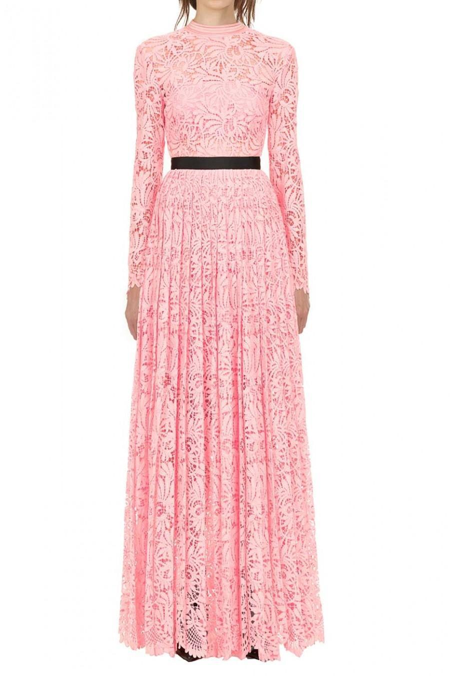 Hochzeit - Self Portrait Floral Lace Maxi Dress