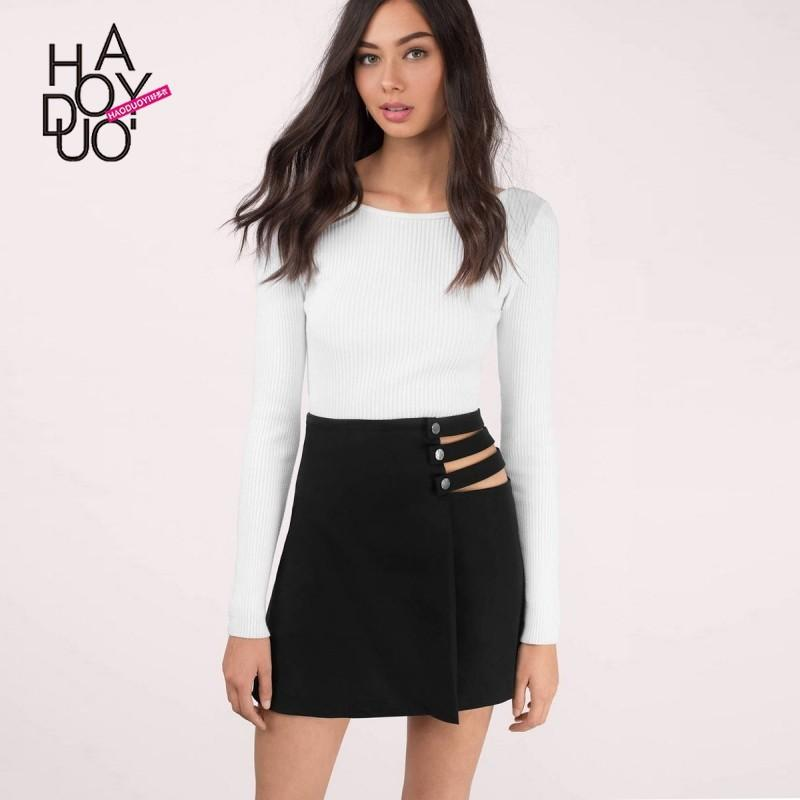 Wedding - Vogue Sexy Hollow Out High Waisted Summer Skirt - Bonny YZOZO Boutique Store