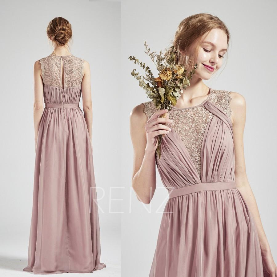 d86fb85e895 Long Gray Chiffon Bridesmaid Dresses