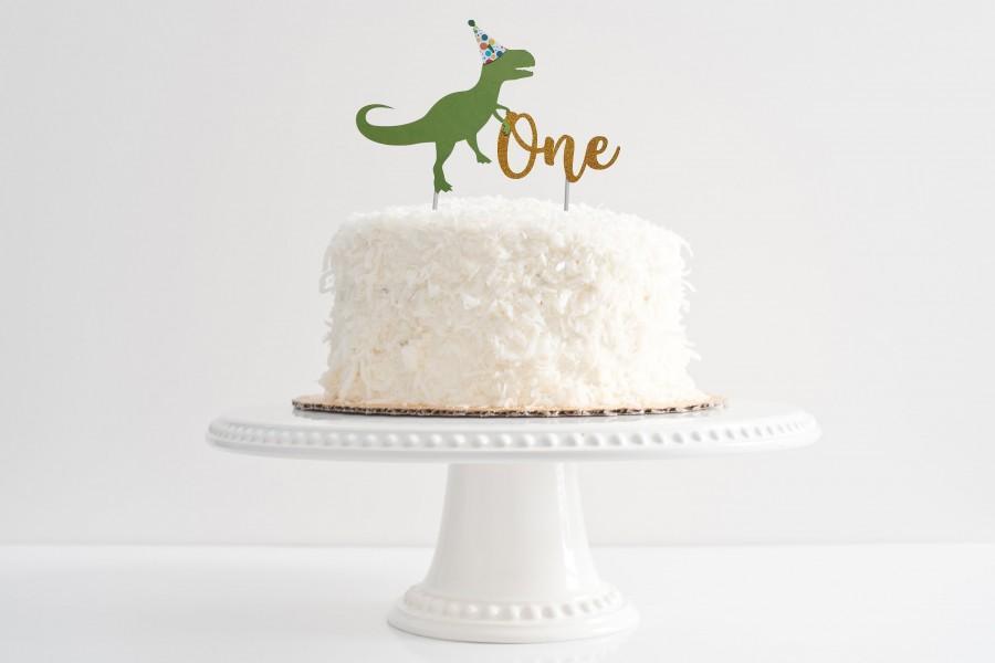 Dinosaur Birthday Cake Topper