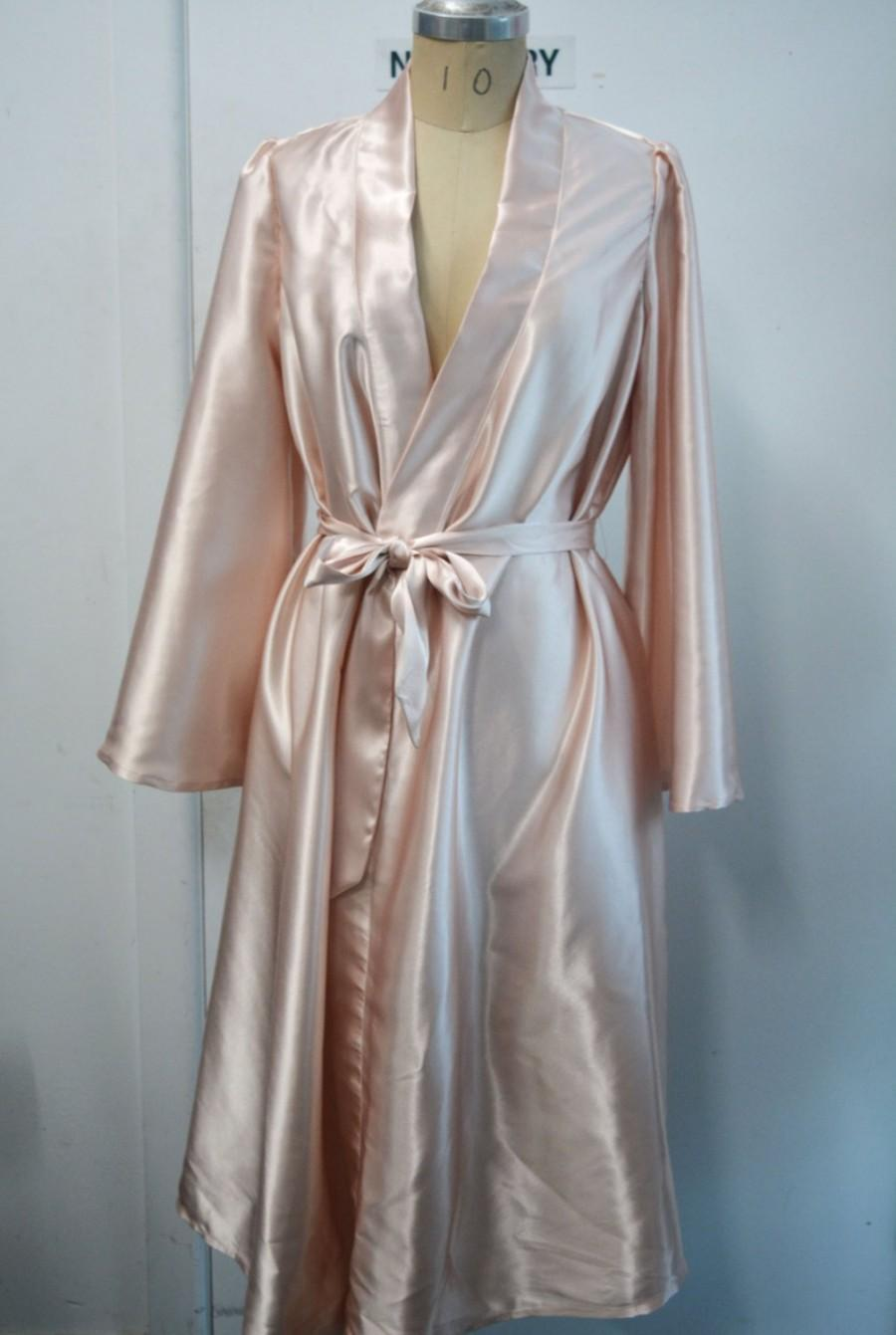 Wedding - Satin Bridesmaids Robe