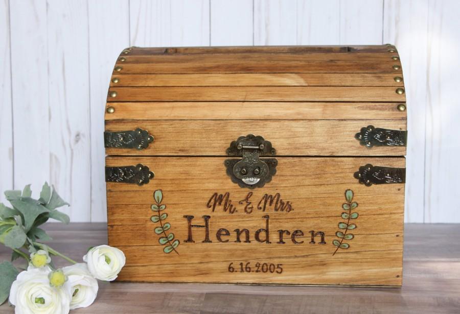 Свадьба - rustic wedding box, personalized card box, rustic wedding card box, wooden cardbox, custom wedding cardbox, wedding box
