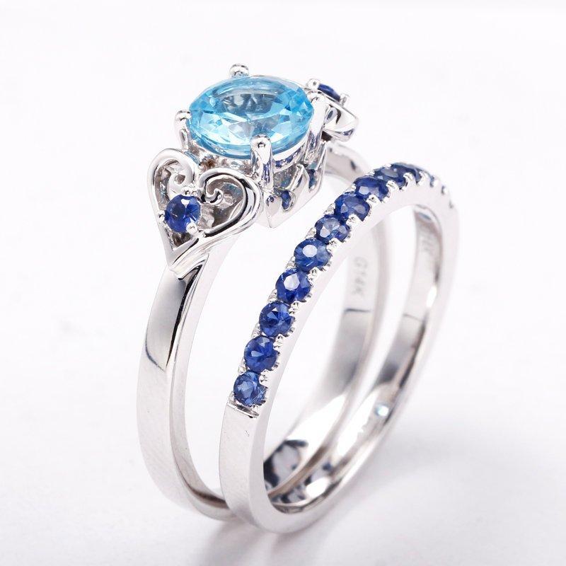 Hochzeit - Kingdom Hearts Engagement Ring Promise Ring Wedding Ring Sora Kairi Riku Cosplay Jewelry Nerdy Geek Video Game Keyblade Paopu Fruit
