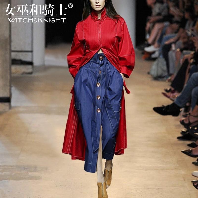 Hochzeit - Vogue Cowboy 9/10 Sleeves Outfit Twinset Skirt Coat - Bonny YZOZO Boutique Store