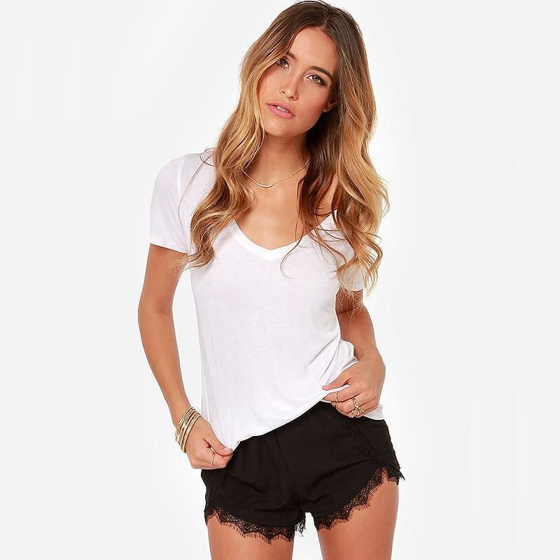 Wedding - Vogue Sexy Attractive Slimming Eyelash Lace Black Short - Bonny YZOZO Boutique Store