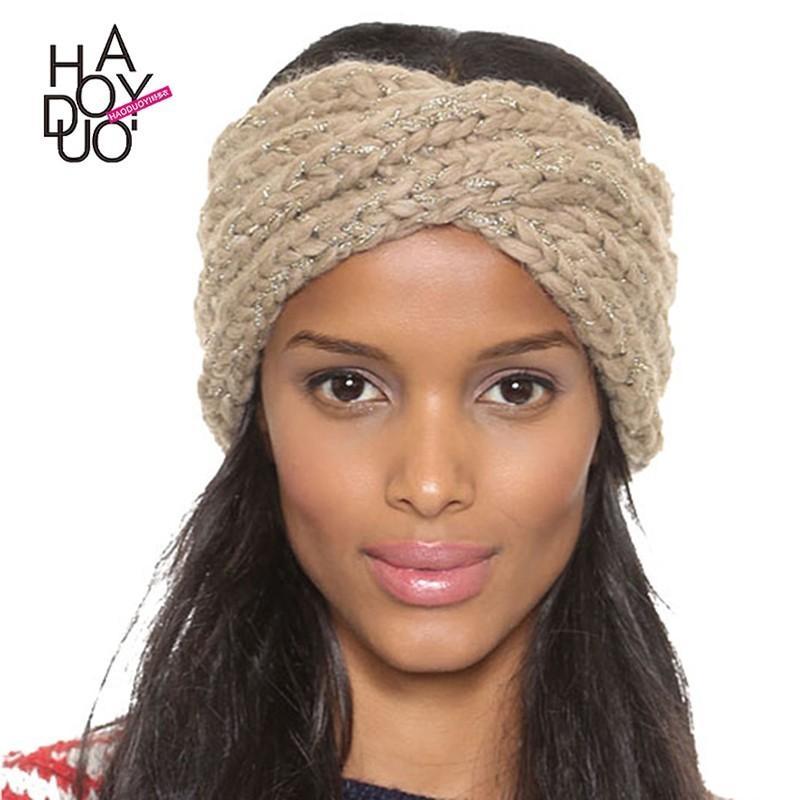 Hochzeit - 2017 winter women's wear new fashion strands gloss knit ear-wrap hats - Bonny YZOZO Boutique Store