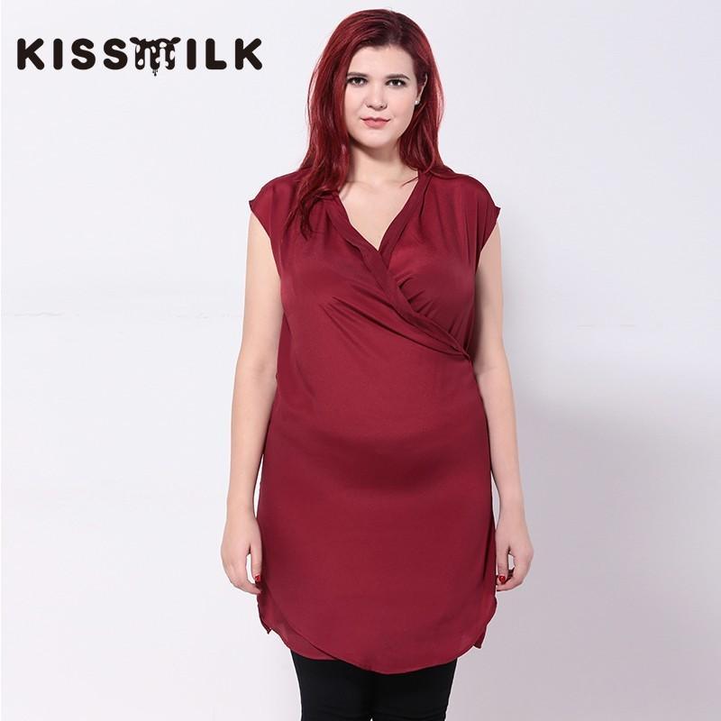 Свадьба - Oversized Slimming Plus Size Sleeveless Dress Top Chiffon Top - Bonny YZOZO Boutique Store