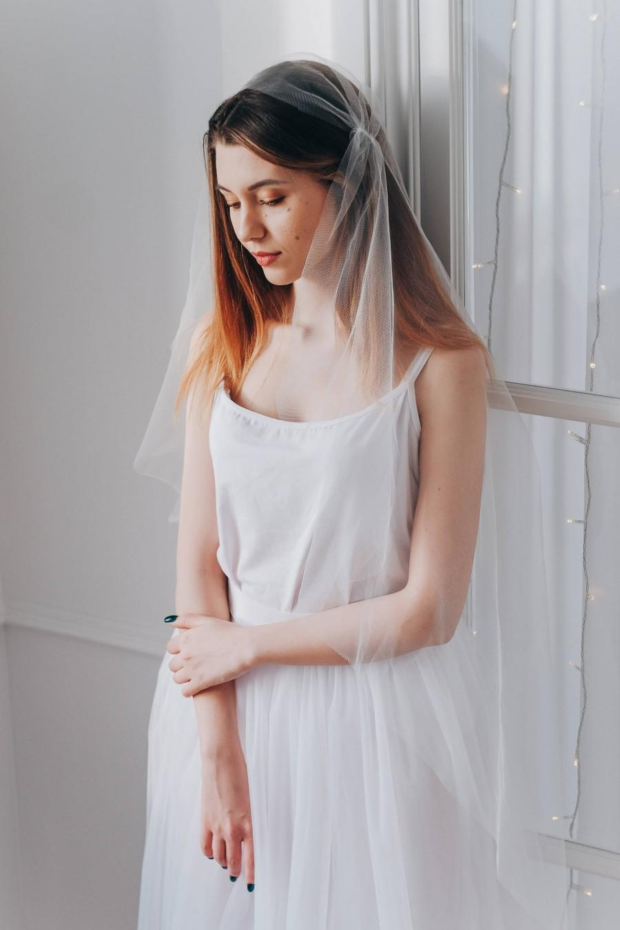 Свадьба - Juliet cap veil, Wedding veil, Bridal veil, Veil wedding, Ivory veil