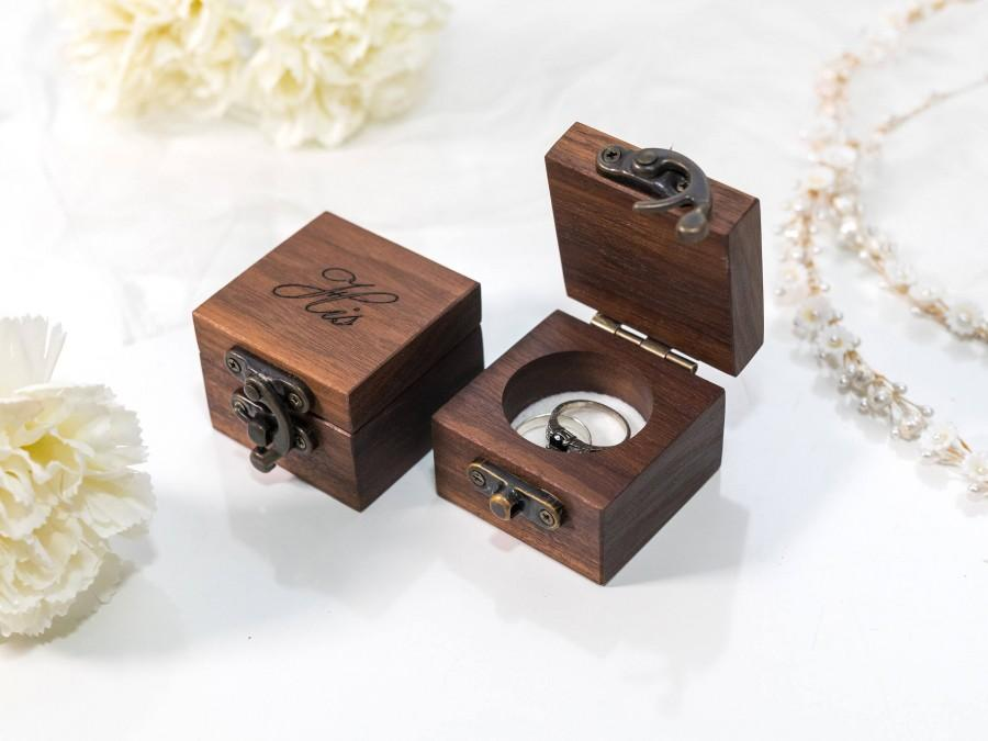 Hochzeit - ring box wedding ring box ring bearer box engagement ring box proposal ring box ring bearer wooden ring box rustic ring box custom ring box